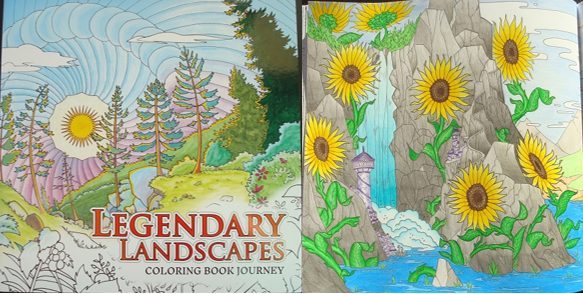 Legendary Landscapes Coloring Book Journey A Review