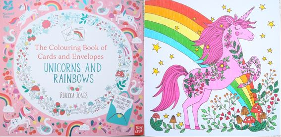 Do you love unicorns and rainbows? Then these colourable cards and envelopes are perfect for you, click through to read more and see more photos!