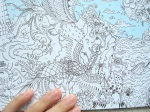 The longest colouring book in the world, packed with content ranging from realistic to mythological, click through to see photos, video and written review!