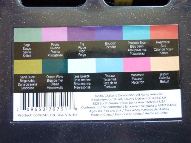 Spectrum Noir Sparkle Glitter Brush Pens - A Review and Video Tutorial